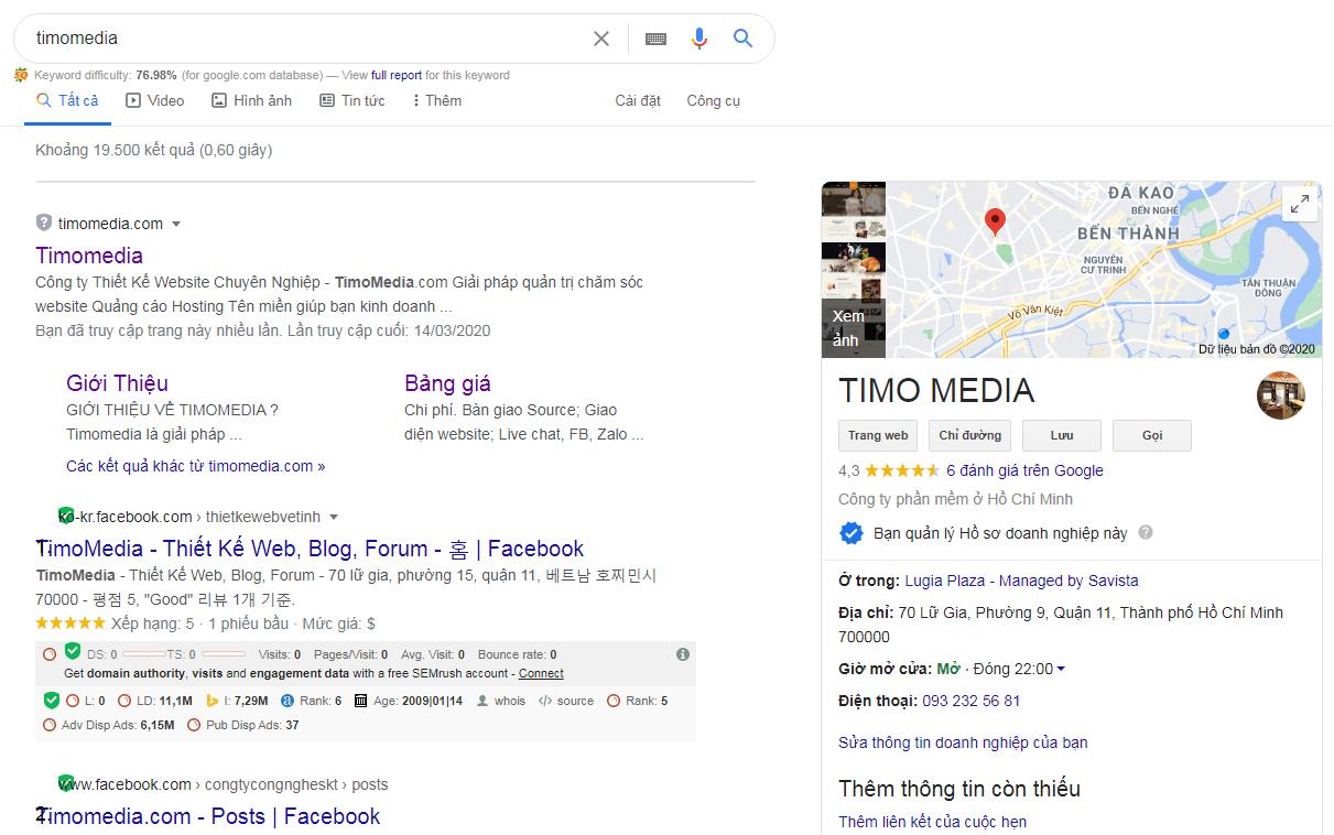 TimoMedia - giải pháp thiết kế website chuyên nghiệp