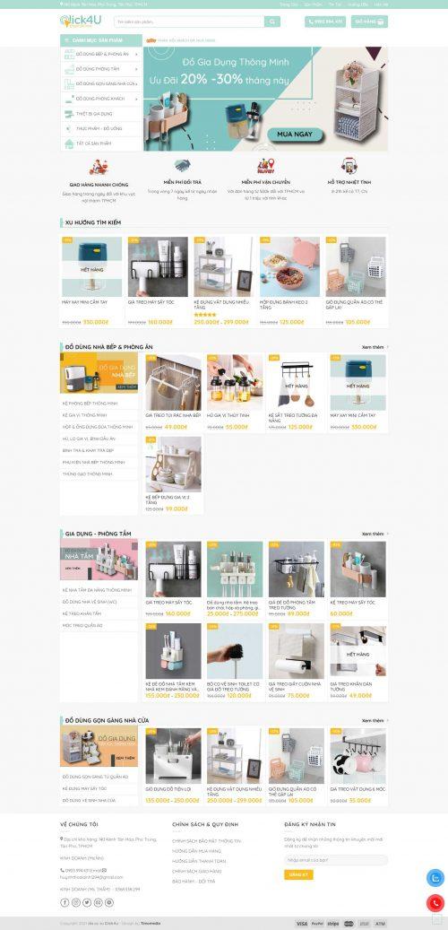 Mẫu website bán hàng 13