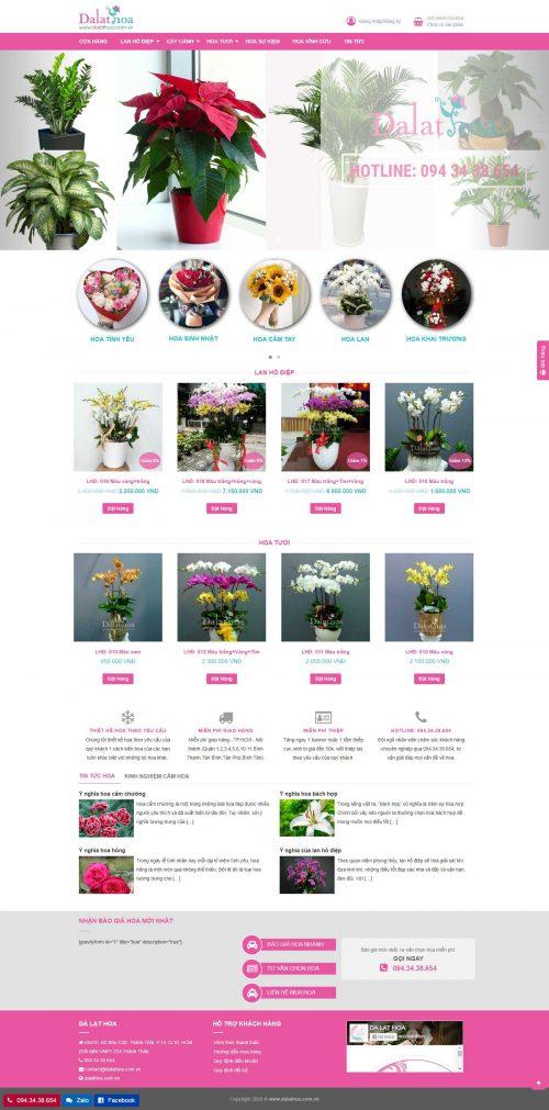 Mẫu website bán hàng 15