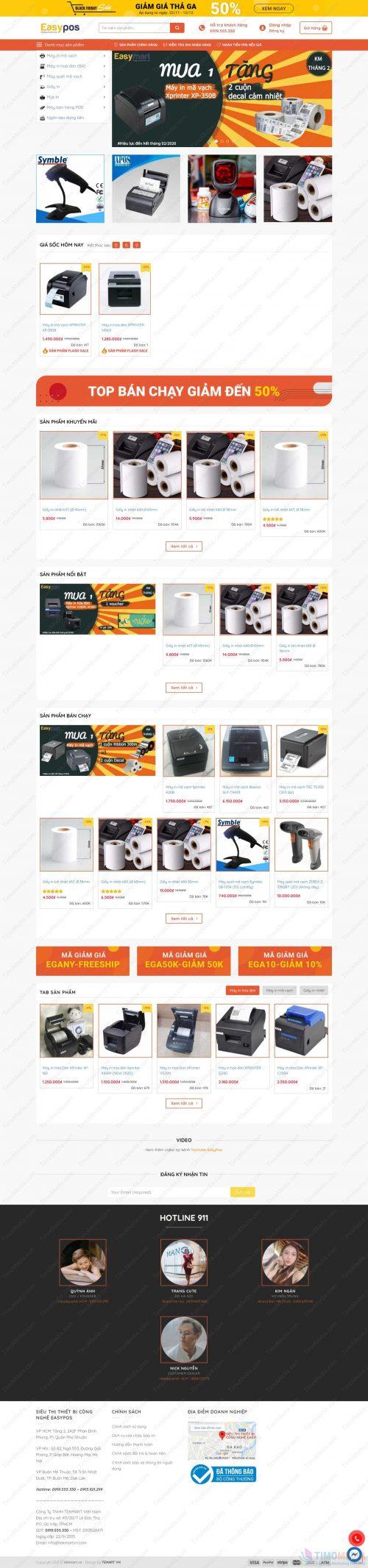 Mẫu website bán hàng 19