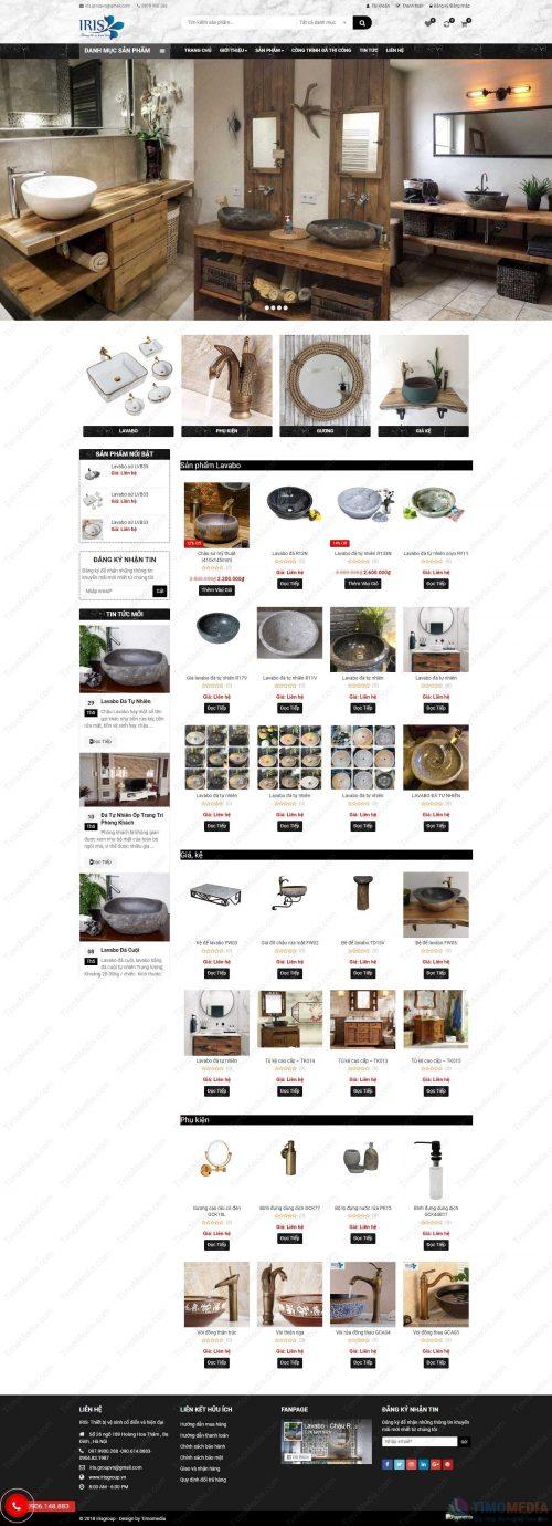 Mẫu website bán hàng 22
