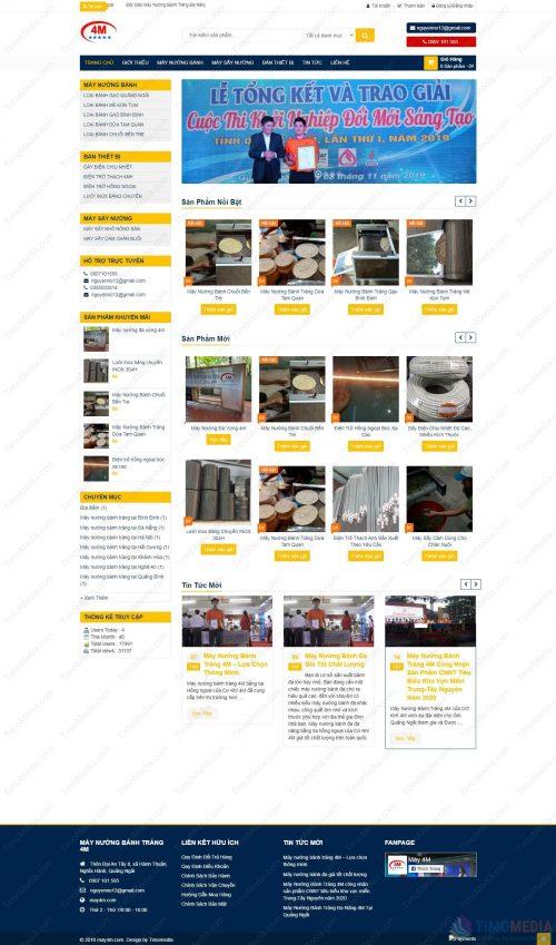 Mẫu website bán hàng 23